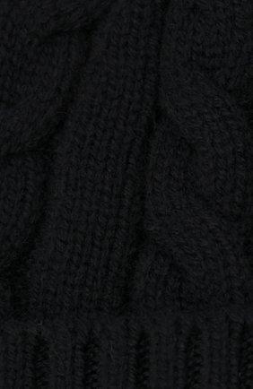 Детского кашемировая шапка LORO PIANA темно-синего цвета, арт. FAL4528   Фото 3 (Материал: Кашемир, Шерсть)