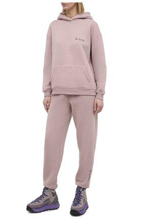 Женский хлопковый костюм SEVEN LAB розового цвета, арт. HPW20-IL misty rose | Фото 1