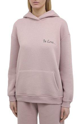 Женский хлопковый костюм SEVEN LAB розового цвета, арт. HPW20-IL misty rose | Фото 2