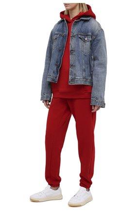 Женский хлопковый костюм SEVEN LAB красного цвета, арт. HPW20-IL red | Фото 1