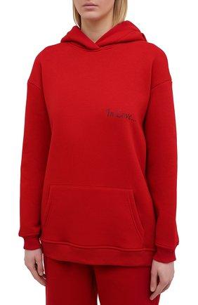 Женский хлопковый костюм SEVEN LAB красного цвета, арт. HPW20-IL red | Фото 2
