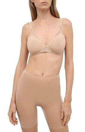 Женские утягивающие трусы-шорты SPANX бежевого цвета, арт. 10008R | Фото 2