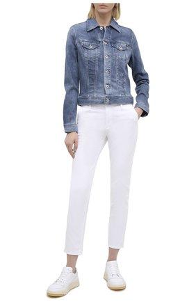 Женская джинсовая куртка AG синего цвета, арт. SPD4087/SRM/MX | Фото 2