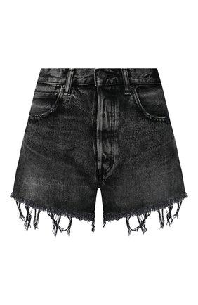 Женские джинсовые шорты MOUSSY темно-серого цвета, арт. 025DAC11-2341 | Фото 1