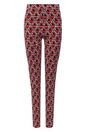 Женские брюки MONCLER GRENOBLE красного цвета, арт. F2-09G-9H700-00-A9598 | Фото 1