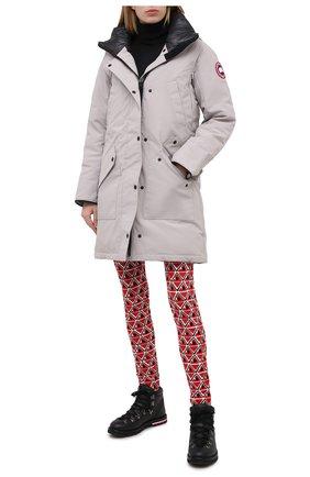 Женские брюки MONCLER GRENOBLE красного цвета, арт. F2-09G-9H700-00-A9598 | Фото 2
