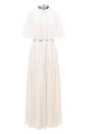 Женское платье CHLOÉ белого цвета, арт. CHC20WR032032 | Фото 1