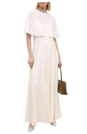 Женское платье CHLOÉ белого цвета, арт. CHC20WR032032 | Фото 2