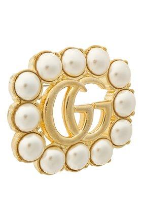 Женская брошь GUCCI золотого цвета, арт. 629616/I5258   Фото 2