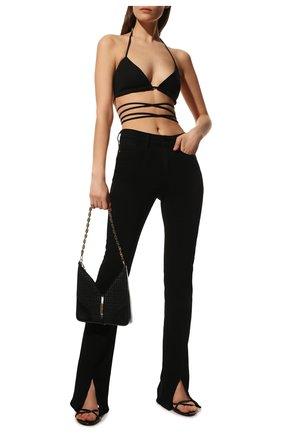 Женские джинсы PAIGE черного цвета, арт. 6202521-2139 | Фото 2