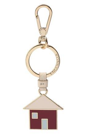 Женский брелок для ключей COCCINELLE фиолетового цвета, арт. E2 GZ4 41 R6 05 | Фото 1