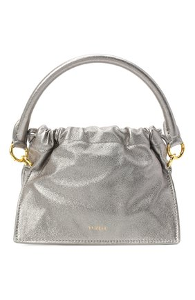 Женская сумка YUZEFI серебряного цвета, арт. YUZAW20-HB-MB-04   Фото 1