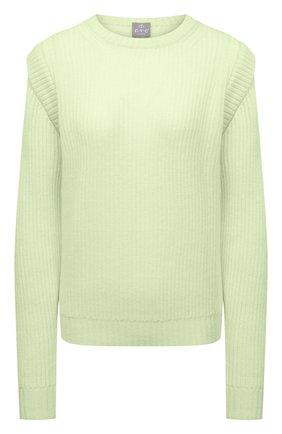 Женский кашемировый свитер FTC зеленого цвета, арт. 810-0100 | Фото 1