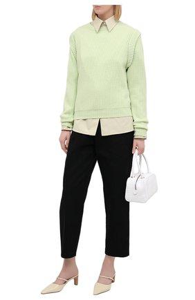 Женский кашемировый свитер FTC зеленого цвета, арт. 810-0100 | Фото 2