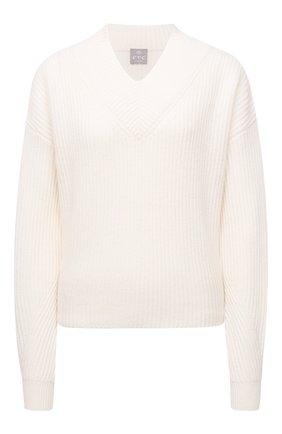 Женский кашемировый свитер FTC белого цвета, арт. 810-0120 | Фото 1