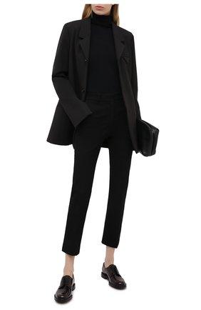 Женская кожаные оксфорды CHURCH'S бордового цвета, арт. DE0009/9XV   Фото 2