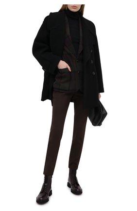 Женские кожаные ботинки CHURCH'S бордового цвета, арт. DT0180/9SN | Фото 2