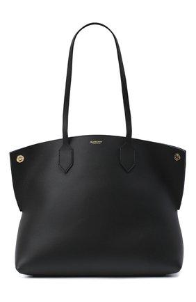 Женский сумка-шопер BURBERRY черного цвета, арт. 8035571 | Фото 1