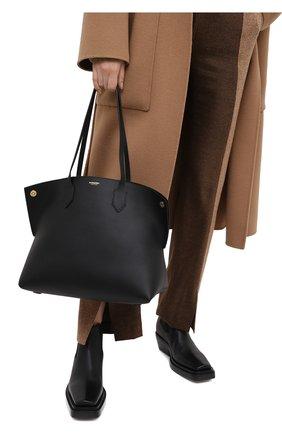Женский сумка-шопер BURBERRY черного цвета, арт. 8035571 | Фото 2