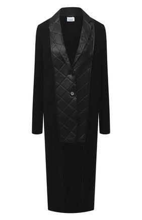 Женский шерстяной жакет BURBERRY черного цвета, арт. 4566695 | Фото 1