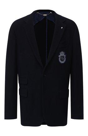 Мужской пиджак BILLIONAIRE темно-синего цвета, арт. O20C MRF1308 BTE004N | Фото 1