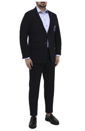 Мужской пиджак BILLIONAIRE темно-синего цвета, арт. O20C MRF1308 BTE004N | Фото 2