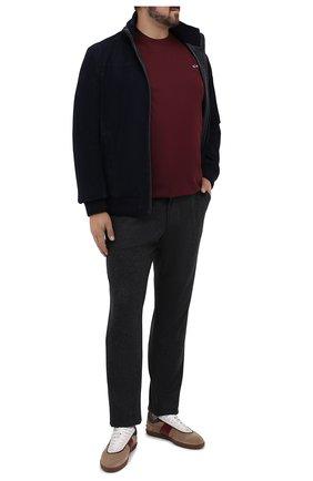 Мужской кашемировые брюки MARCO PESCAROLO темно-серого цвета, арт. CARACCI0L0/4298 | Фото 2