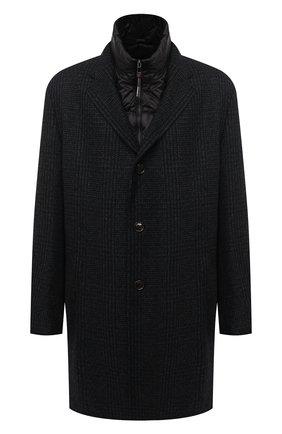 Мужской пальто WINDSOR темно-синего цвета, арт. 13 CELLAN0-U 10010165/60-66 | Фото 1