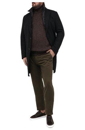 Мужской пальто WINDSOR темно-синего цвета, арт. 13 CELLAN0-U 10010165/60-66 | Фото 2