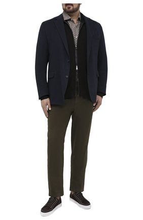 Мужской пиджак EDUARD DRESSLER темно-синего цвета, арт. 64G1/26J01 | Фото 2