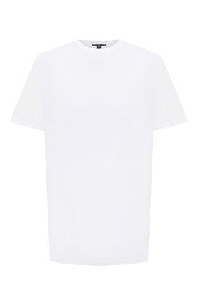Мужская хлопковая футболка JAMES PERSE белого цвета, арт. MELJ3199 | Фото 1