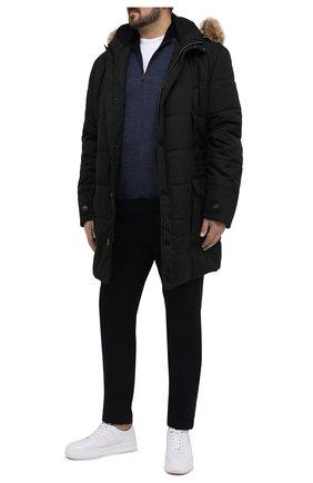 Мужской шерстяной джемпер PAUL&SHARK темно-синего цвета, арт. I20P1144/FUV/3XL-6XL | Фото 2