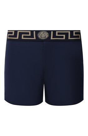 Мужские плавки-шорты VERSACE темно-синего цвета, арт. ABU01022/A232415 | Фото 1