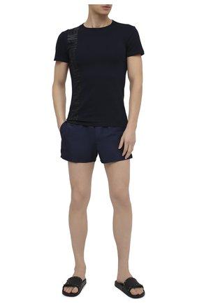 Мужские плавки-шорты VERSACE темно-синего цвета, арт. ABU01022/A232415 | Фото 2