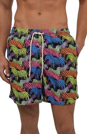 Мужские плавки-шорты MC2 SAINT BARTH разноцветного цвета, арт. STBM LIGHTING/LIG0001 | Фото 2