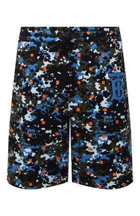Мужские хлопковые шорты BURBERRY разноцветного цвета, арт. 8034156 | Фото 1