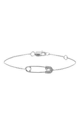 Женский браслет J-POINT белого цвета, арт. ИПГ857.48.141020.26W | Фото 1