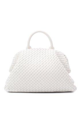 Женская сумка bv handle BOTTEGA VENETA белого цвета, арт. 639301/V01D1 | Фото 1