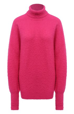 Женский шерстяной свитер MAISON MARGIELA фуксия цвета, арт. S51HA1057/S17477   Фото 1