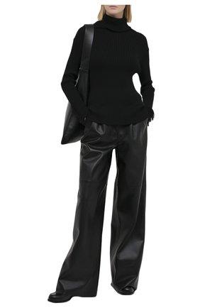 Женский шерстяной свитер Y`S черного цвета, арт. YR-K08-182 | Фото 2