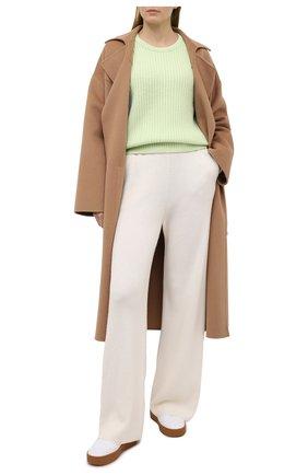 Женский кашемировый свитер FTC зеленого цвета, арт. 810-0070   Фото 2