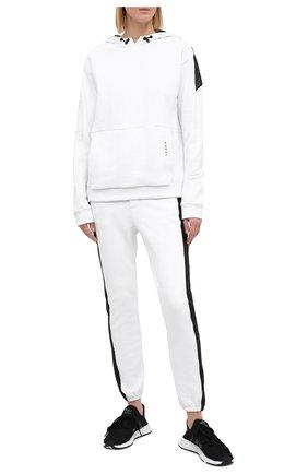 Женская худи KORAL черно-белого цвета, арт. A4242F76 | Фото 2