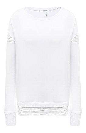 Женская лонгслив KORAL белого цвета, арт. A6377J75 | Фото 1