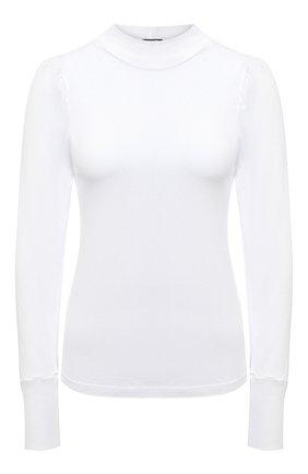 Женская лонгслив MONROW белого цвета, арт. HT0991 | Фото 1