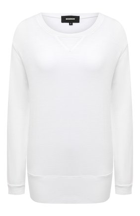 Женская свитшот MONROW белого цвета, арт. HT087WFT | Фото 1