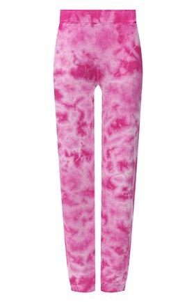Женские хлопковые брюки MONROW розового цвета, арт. HB0455-6 | Фото 1