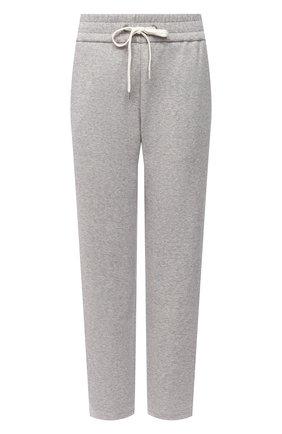 Женские хлопковые брюки JAMES PERSE серого цвета, арт. WRDK1860 | Фото 1