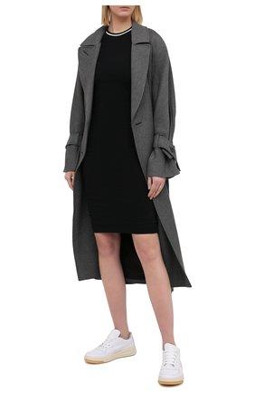 Женское хлопковое платье JAMES PERSE черного цвета, арт. WGCR6483 | Фото 2