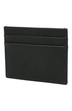 Женский кожаный футляр для кредитных карт DOLCE & GABBANA черного цвета, арт. BI0330/AW737 | Фото 2