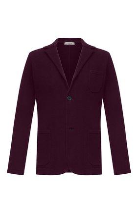 Мужской пиджак из шерсти и кашемира FIORONI фиолетового цвета, арт. MKF21315G1 | Фото 1